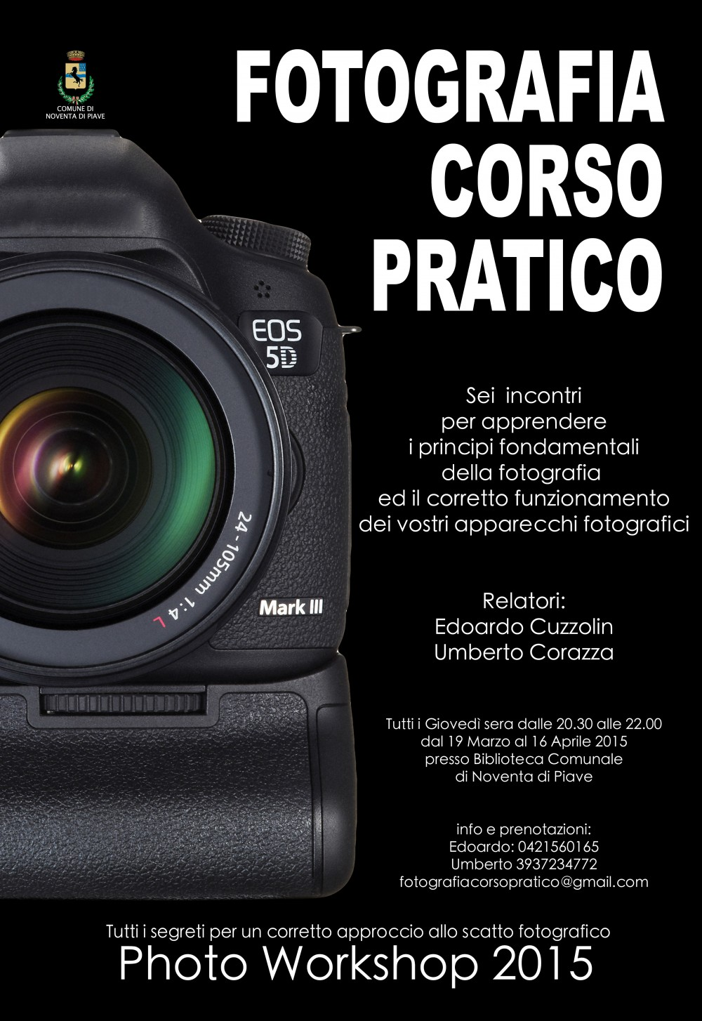 Corso Pratico di Fotografia by Photofashion